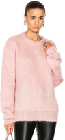 Carven Mohair Sweater in Pink.