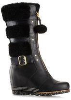 Sorel Holiday Helen Sheepskin Wedge Boots