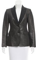 Moschino Cheap & Chic Moschino Cheap and Chic Iridescent Metallic Blazer