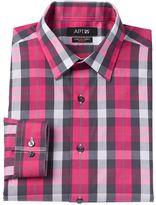 Apt. 9 Men's Slim-Fit Plaid Stretch Dress Shirt