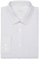 Perry Ellis Slim Fit Diamond Check Dress Shirt