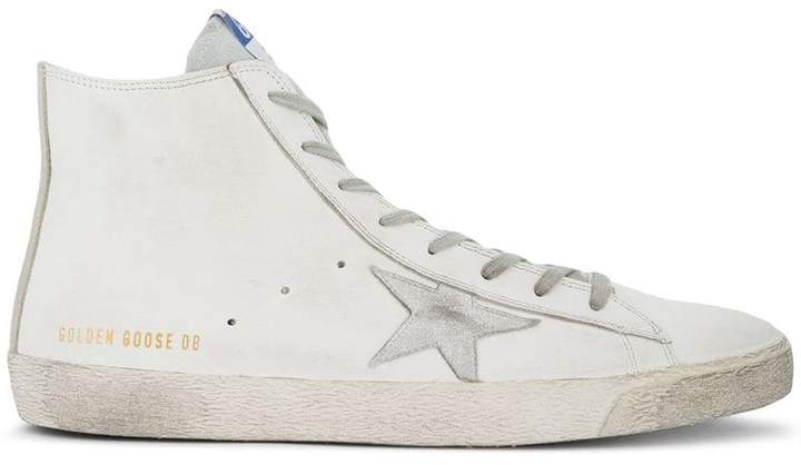 Golden Goose White Francy hi top sneakers