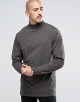 ONLY & SONS Jersey Roll Neck Long Sleeve Top