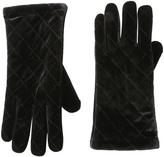Cejon Black Quilted Velvet Glove
