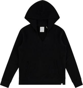 Jason Scott Split Neck Hoodie Sweatshirt