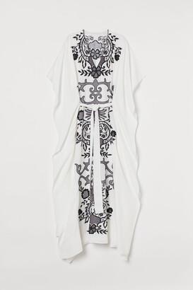 H&M Embroidered kaftan