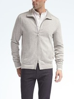 Banana Republic Supima® Full-Zip Sweater Jacket