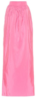 Carolina Herrera Silk maxi skirt