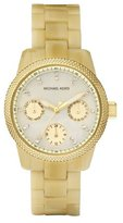 Michael Kors Women's MK5400 Yellow Resin Quartz Watch with Dial