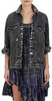 R 13 Women's Denim Oversized Jacket