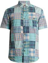 Faherty Coast cotton patchwork shirt