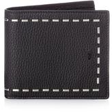 Fendi Selleria Stitch grained-leather wallet