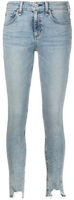 Rag & Bone Cate ripped ankle skinny jeans