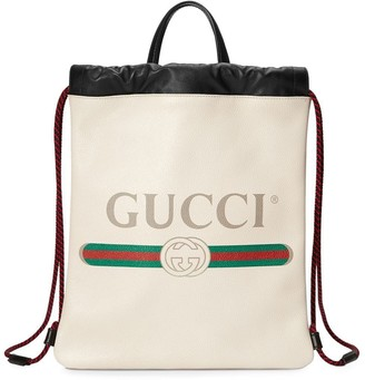 Gucci Print small drawstring
