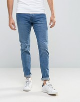 Weekday Wednesday Slim Jeans Peer Blue