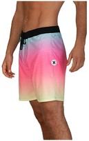 Hurley 18 Phantom Hyperweave Fade Out Boardshorts (Digital Pink) Men's Swimwear