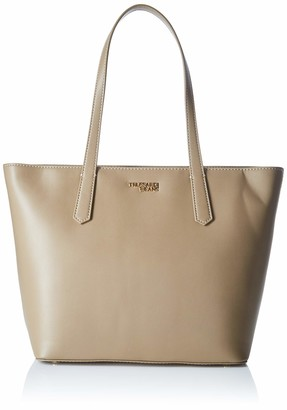 Trussardi Jeans Miss Carry Tote Md Saffiano Ec Womens Tote