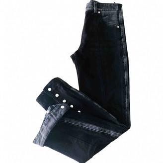 Louis Vuitton Black Denim - Jeans Jeans for Women