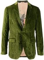 Etro Imprimé velvet jacket