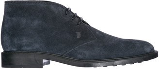 Tod's Lace Up Desert Boots