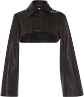 J.W.Anderson Cropped Trench Leather Jacket