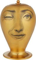 """Fornasetti L'antipatico Oro Matt"""" Two-Faced Vase"""