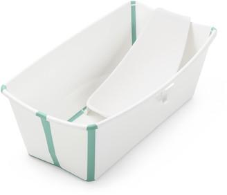 Stokke Flexi Bath(R) Foldable Baby Bath Tub with Temperature Plug & Infant Insert