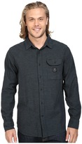 VISSLA Seaweed Long Sleeve Yarn Flannel