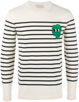 Moncler striped long sleeve top - men - Cotton - M
