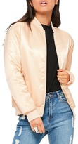 Missguided Me Myself And I Bomber Jacket