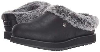 BOBS from SKECHERS Keepsakes - R E M (Black) Women's Slip on Shoes