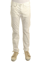 Stone Island 5 Pocket Pant in White