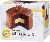 JCPenney Wilton Brands Wilton Round Tasty Fill Mini Cake Pan Set