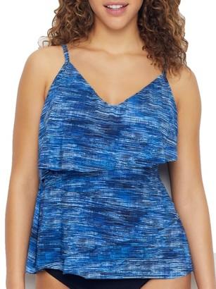 Magicsuit Blue Jean Chloe Tankini Top