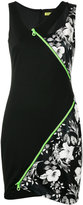 Versace asymmetric dress - women - Polyamide/Polyester/Viscose - 40