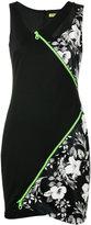 Versace asymmetric dress - women - Polyamide/Polyester/Viscose - 42