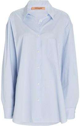 Andamane Georgiana Striped Button-Down Shirt
