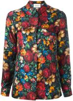 Gucci floral print shirt - women - Silk - 40