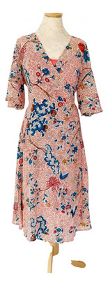 Anthropologie Red Polyester Dresses