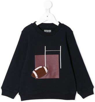 Il Gufo Football crew neck sweatshirt