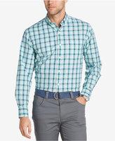 Izod Men's Multicolor Plaid Cotton Shirt