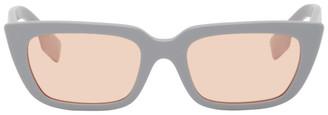 Burberry Grey Square Sunglasses