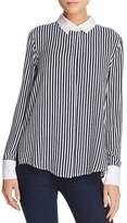 Aqua Contrast-Collar Shirt - 100% Exclusive