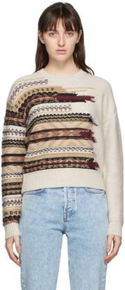 Rag & Bone Beige Wool Annalise Sweater