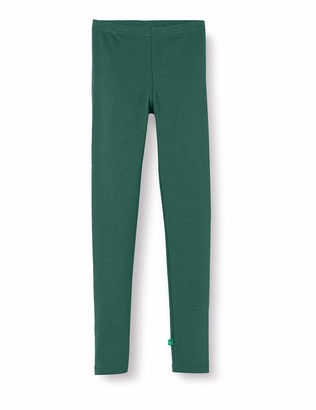 Fred's World by Green Cotton Girl's Star Solid Leggings