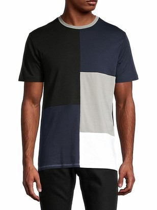 Karl Lagerfeld Paris Colorblock Pima Cotton Tee