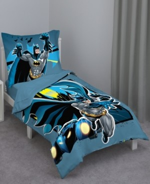 NoJo Batman 4-Piece Toddler Bedding Set Bedding