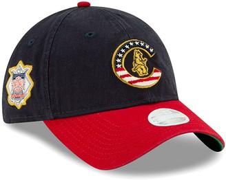 New Era Women's Navy Chicago Cubs 2019 Stars & Stripes 4th of July 9TWENTY Adjustable Hat
