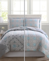 Pem America Cassandra Reversible 3-Pc. King Comforter Mini Set