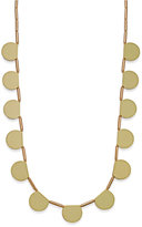 Kate Spade 12k Gold-Plated White Multi-Pendant Long Necklace